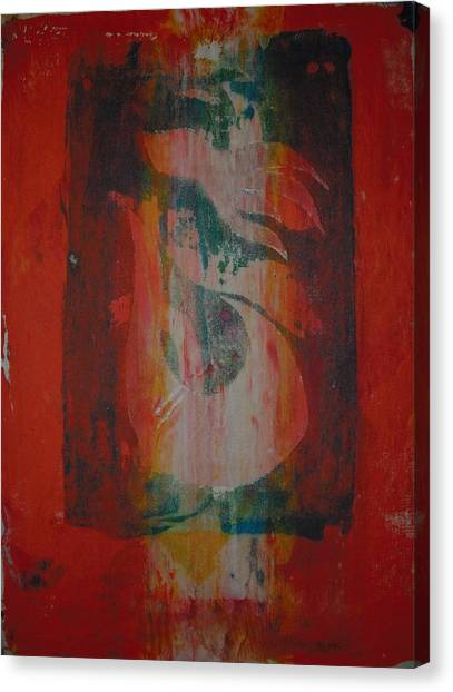 Tropical Palm Hous Canvas Print