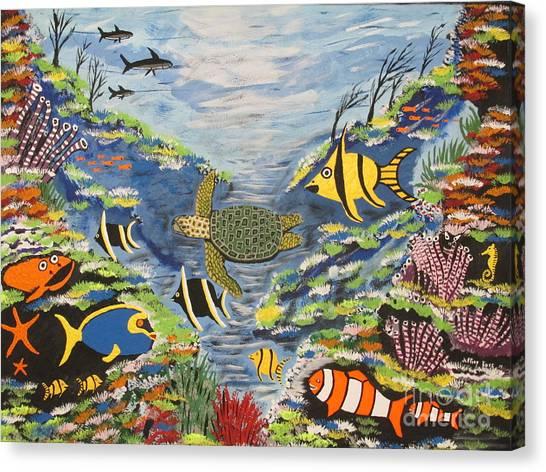 Canvas Print - Tropical Paradise by Jeffrey Koss