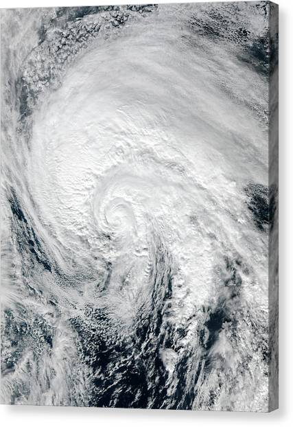 Cyclones Canvas Print - Tropical Storm Alex by Nasa