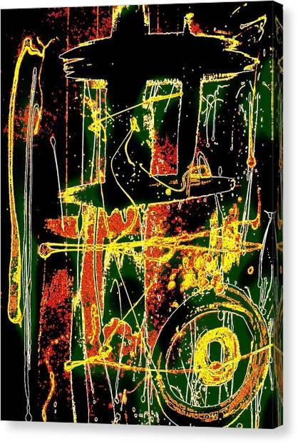 Tropix Canvas Print