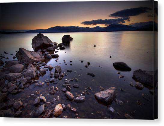 Trossachs Loch Lomond Canvas Print