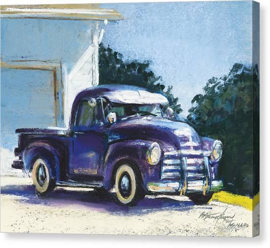 Truck Canvas Print by Beverly Amundson