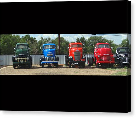 Truckin Canvas Print