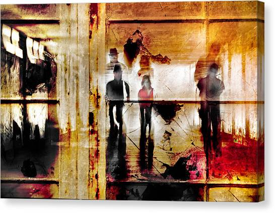 True The Window Canvas Print by The Jar -