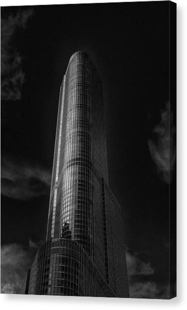 Chicago Fire Canvas Print - Trump Tower Chicago by David Haskett II