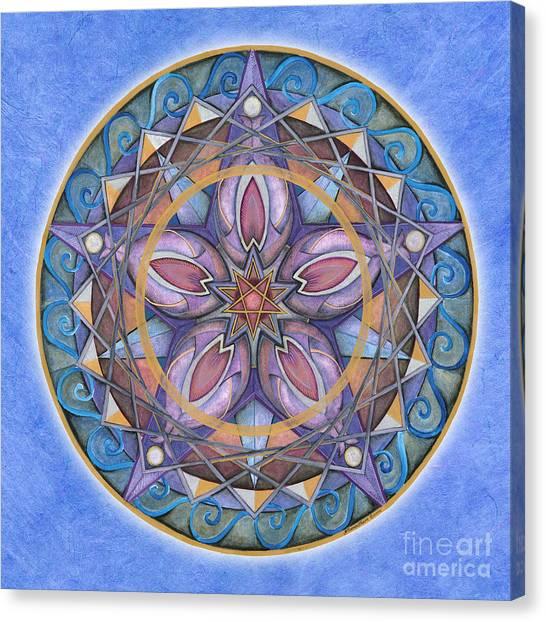 Truth Mandala Canvas Print