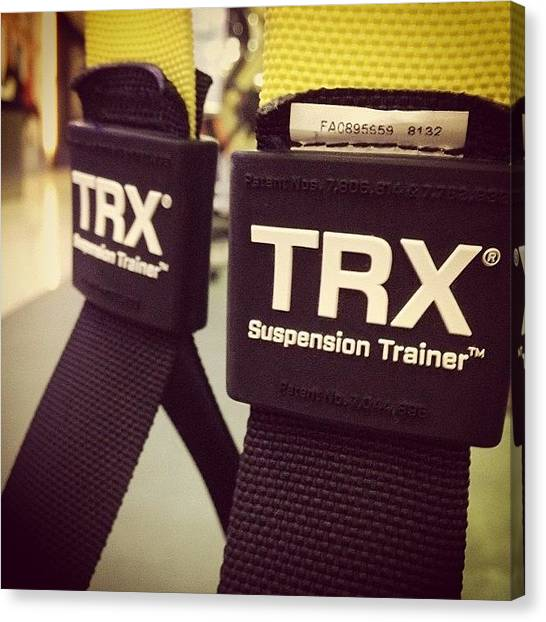Shoulders Canvas Print - #trx Time After #jumpropes And by Marcus Chan