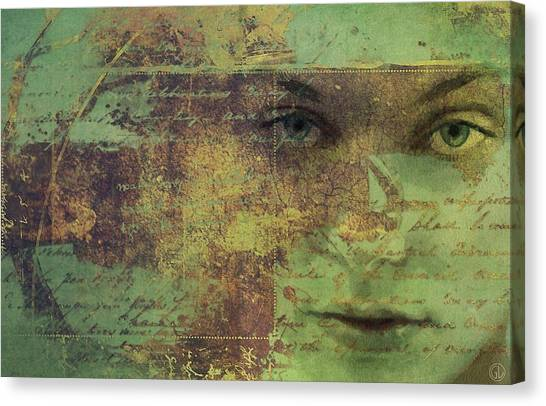 Trying To Understand Canvas Print by Gun Legler
