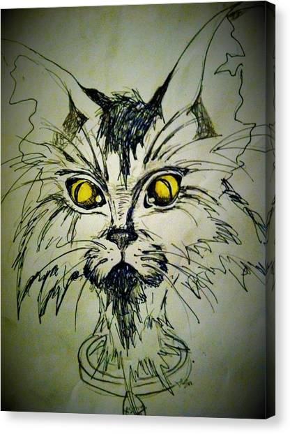 Tsimos Cat Canvas Print