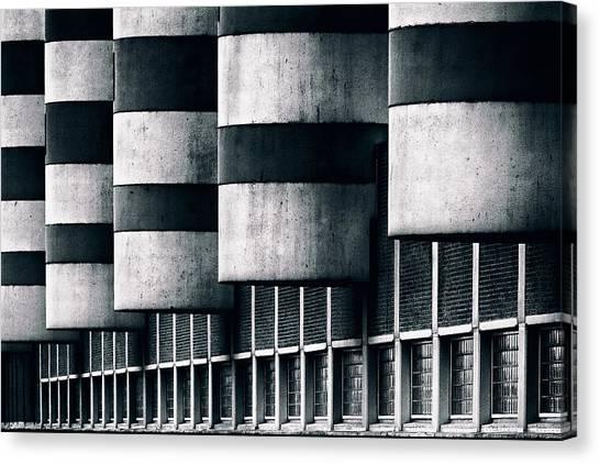 Industrial Canvas Print - Tubby Tubs by Hans-wolfgang Hawerkamp