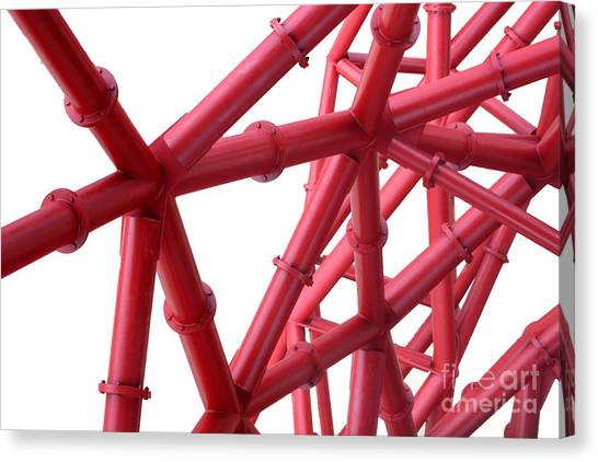 Tubes Canvas Print by Roger Lighterness