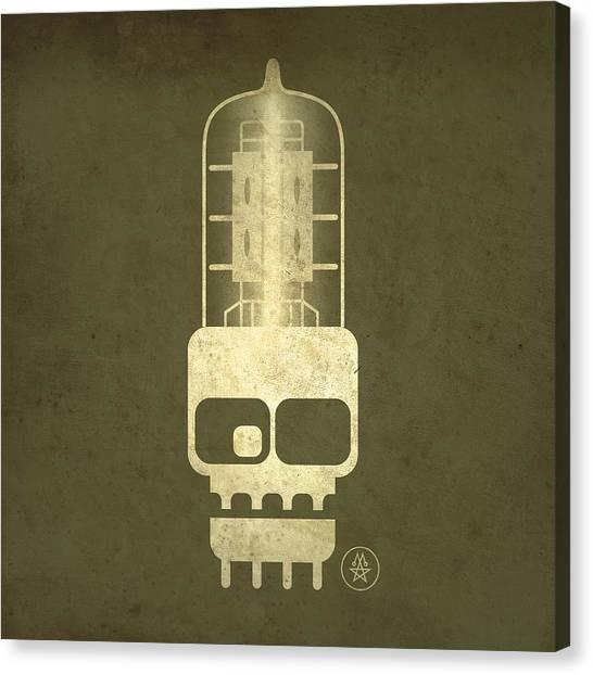 Tubeskull Canvas Print
