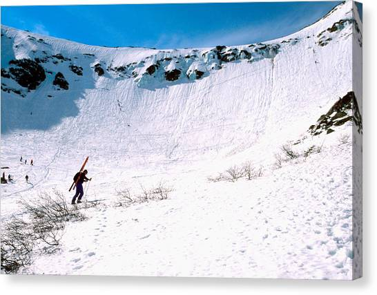 Tuckerman Ravine Canvas Print