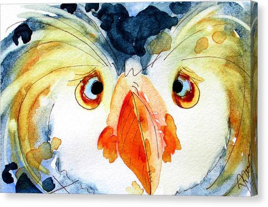 Tufted Puffin Canvas Print
