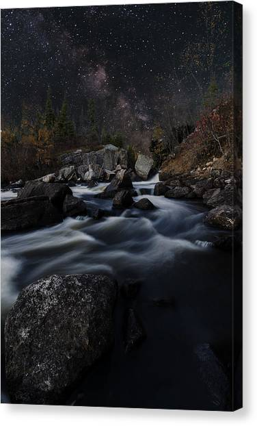 Tulabi Falls Canvas Print