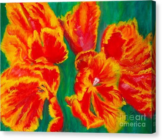 Tulip Days Canvas Print