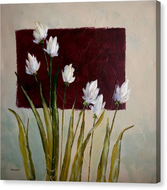 Tulips Canvas Print by Bob Pennycook