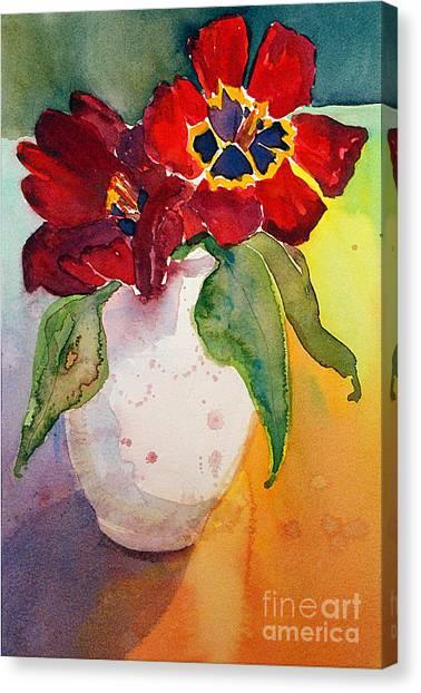 Tulips Canvas Print by Gwen Nichols