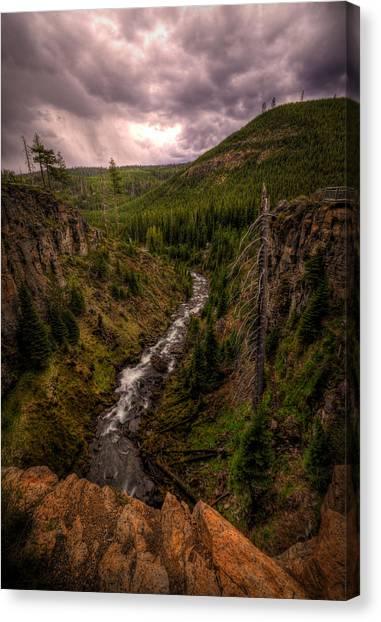 Canvas Print featuring the photograph Tumalo Creek by Matt Hanson