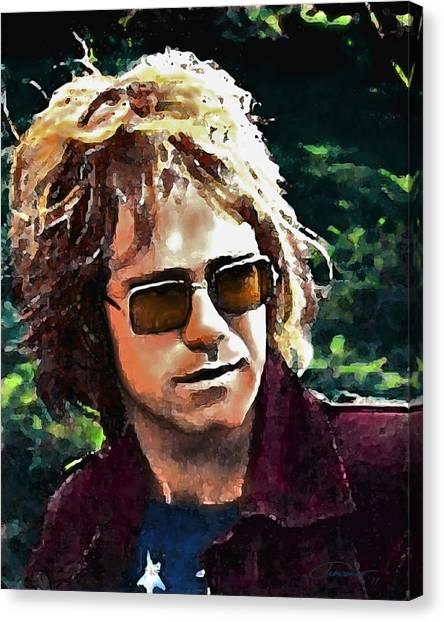 Elton John Canvas Print - Tumbleweed by John Travisano