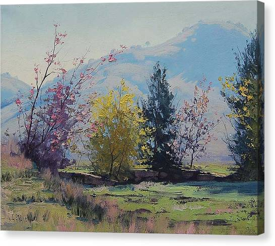 Australian Canvas Print - Tumut Spring by Graham Gercken