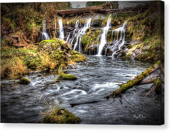 Tumwater Falls  Canvas Print