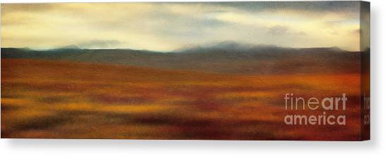 Tundras Canvas Print - Tundra Autumn Melody by Priska Wettstein
