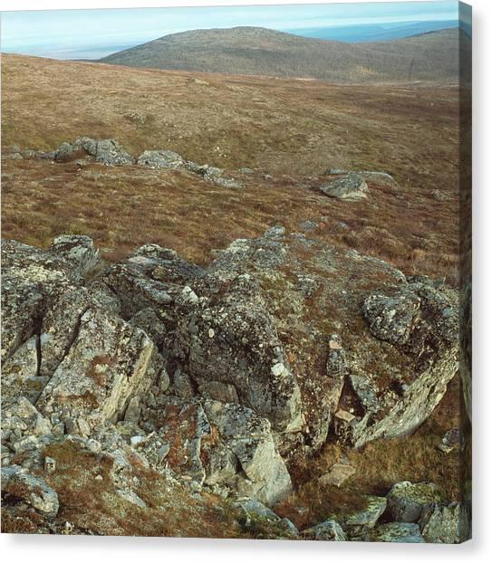 Tundras Canvas Print - Tundra Mountain by Mark De Fraeye/science Photo Library