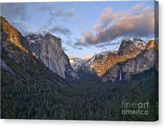 Tunnel View Canvas Print by Richard Verkuyl