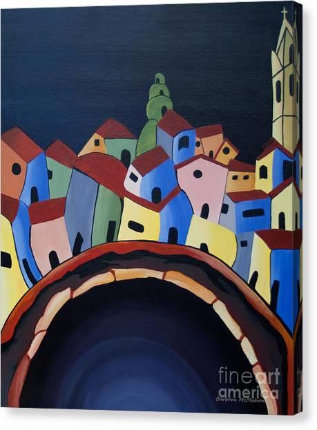 Tunnels Of Guanajuato Canvas Print