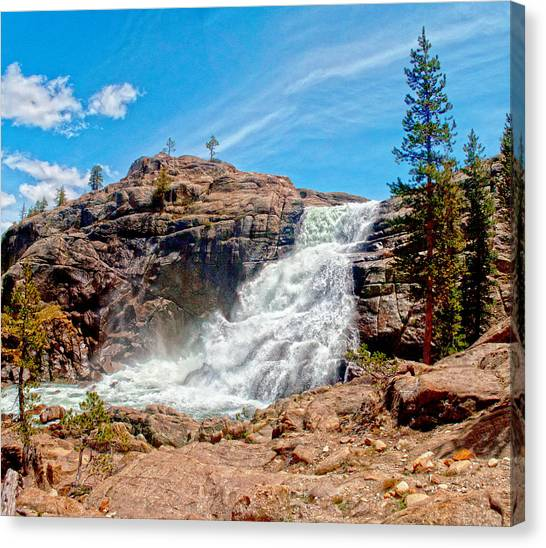 Tuolumne Fall  Canvas Print