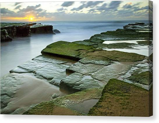 Turimetta Beach Sunrise Canvas Print