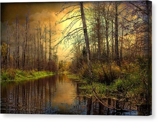 Turn Of Dawn Canvas Print