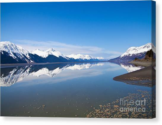 Turnagain Arm Canvas Print