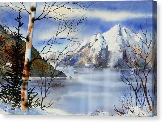 Turnagain View Canvas Print