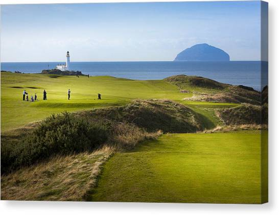 Turnberry Golf Course Prints Canvas Print