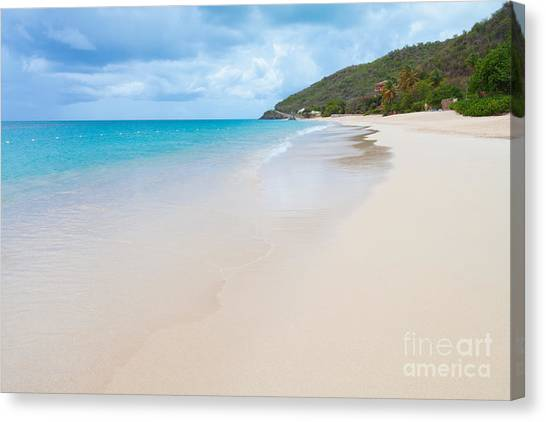 Turner Beach Antigua Canvas Print