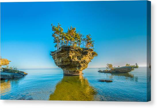 Turnip Rock Canvas Print