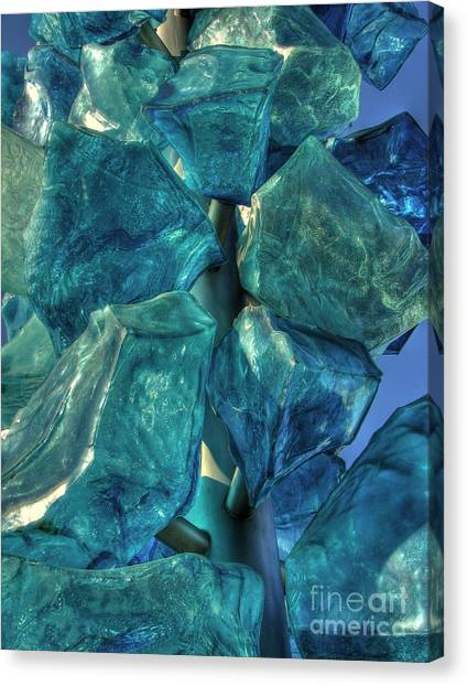 University Of Washington Canvas Print - Turquoise by Chris Anderson