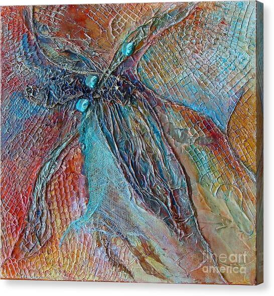 Turquoise Jewel Canvas Print