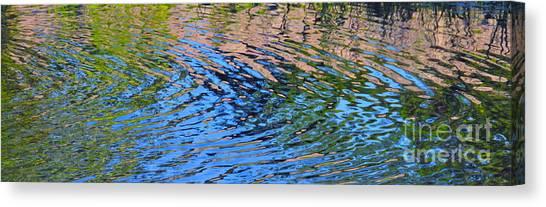 Turquoise Luminesence Canvas Print