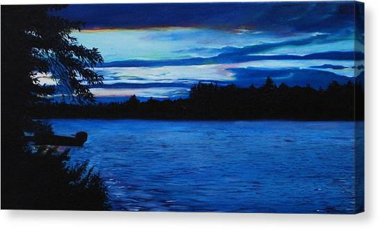 Turtle Lake Canvas Print