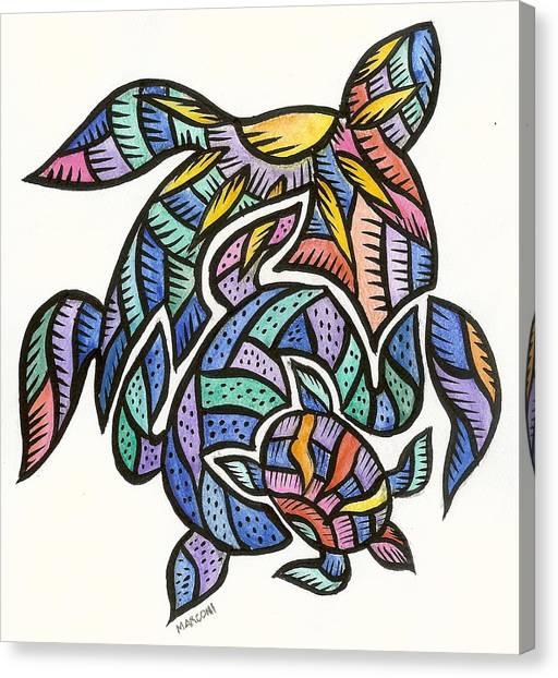 Turtles 2009 Canvas Print