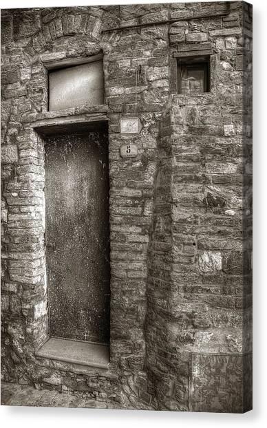 Tuscan Doorway Canvas Print