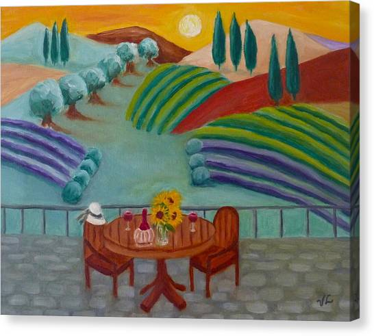 Tuscan Dreams Canvas Print