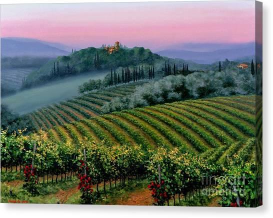Tuscan Dusk Canvas Print