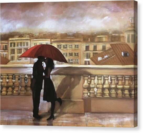 Tuscan Love Canvas Print