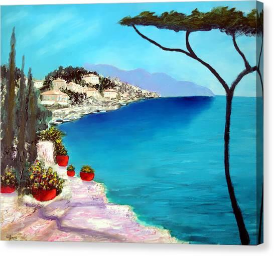 Tuscan Sea Canvas Print