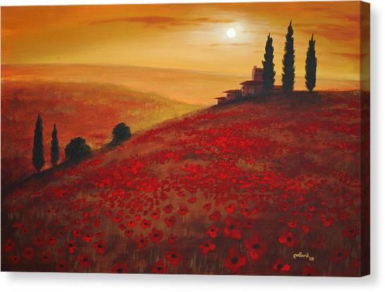 Tuscan Sunset Canvas Print