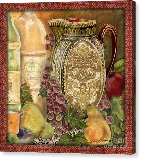 Tuscan Wine-d Canvas Print